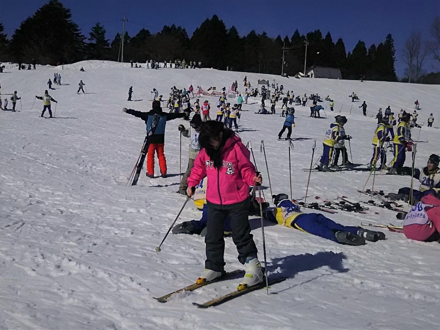 スキー 場 かん なべ アップ